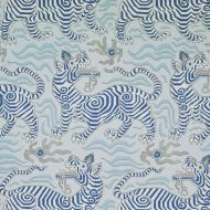 Clarence House: Tibet Wallpaper in Pale Blue 9985-1