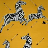 Scalamandre: Zebras Wallpaper SC 0006 WP81388M Yellow