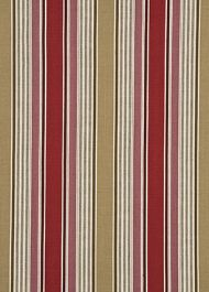GP&J Baker: Arley Stripe BF10401.4.0 Red/Camel