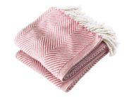 Brahms Mount Monhegan Cotton Throw in Soft White / Granache