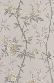GP&J Baker: Peony & Blossom BW45066.1.0 Dove/Silver