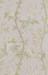 GP&J Baker: Peony & Blossom BW45066.4.0 Ivory/Willow