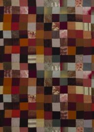 Mulberry Home: Puzzlewood Velvet FD279.T70.0 Spice/Plum