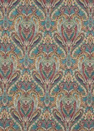 Mulberry Home:  Bohemian Paisley FD728.R11 Teal