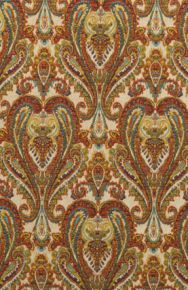 Mulberry Home: Bohemian Paisley FD728.Y101 Multi