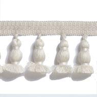 Scalamandre: Halsey Onion Fringe FT1499-001 Ivory