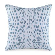 Curated Kravet: Les Touches Pillow QR-18345.AQUA.0 Aqua