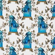 Gaston y Daniela for Kravet: Chien LCT5372.003.0 Blanco/Azul