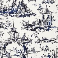 Scalamandre: Summer Palace 16561-002 Porcelain