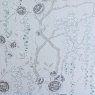 Sarah Richardson Harmony for Kravet: Peony Tree PEONYTREE.11.0 Silver