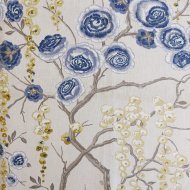 Sarah Richardson Harmony for Kravet: Peony Tree PEONYTREE.523.0 Ultramarine