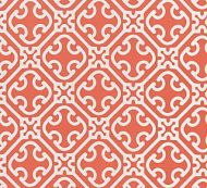 Scalamandre: Ailin Lattice Weave SC 0004 27214 Coral