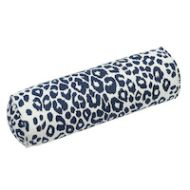 Schumacher: Iconic Leopard Bolster Pillow SO17572016 Ink