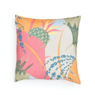 "Schumacher: Ananas 18"" Pillow SO17754004 Tropical"