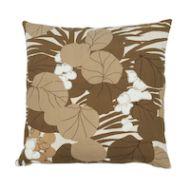 """Schumacher: Sea Grapes 18"""" Pillow SO17863204 Bark"""