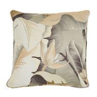"Schumacher: Botanico 20"" Pillow SO7389005 Bronze"