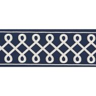 Scalamandre: Soutache Embroidered Tape T3281-006 Navy