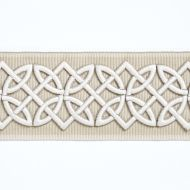 Scalamandre: Celtic Embroidered Tape  T3282-001