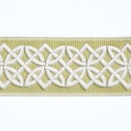 Scalamandre: Celtic Embroidered Tape  T3282-004