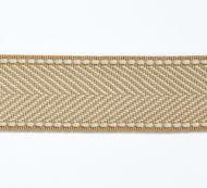 Scalamandre: Montauk Herringbone Tape T3285-006 Camel
