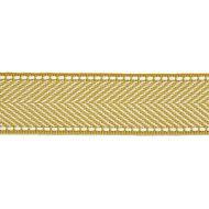 Scalamandre: Montauk Herringbone Tape T3285-007 Brass