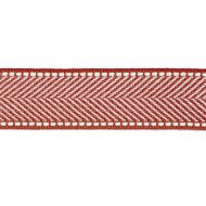 Scalamandre: Montauk Herringbone Tape T3285-008 Coral