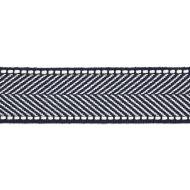 Scalamandre: Montauk Herringbone Tape T3285-011 Indigo