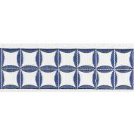 Scalamandre: Fiori Embroidered Tape T3288-002 Delft