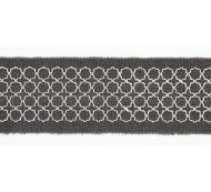 Scalamandre: Seville Embroidered Tape T3289-004 Charcoal