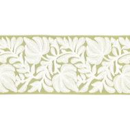 Scalamandre: Coventry Embroidered Tape T3296-003 Celery