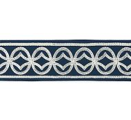 Scalamandre: Athena Embroidered Tape SC 0003 T3305 Navy