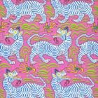Clarence House: Tibet Wallpaper 9985-8 Hot Pink
