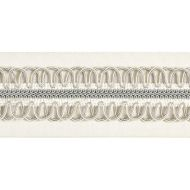 Scalamandre: Colette Braided Tape V1242-001 Cloud