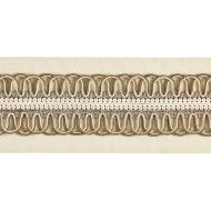 Scalamandre: Colette Braided Tape V1242-002 Bisque