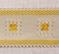 Scalamandre: Sienese Braid SC 0008 V713M Cream & Gold