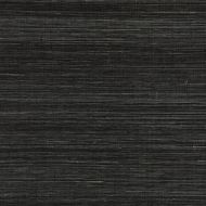 Scalamandre: Shantung Grasscloth WP88347-012 Black Pepper