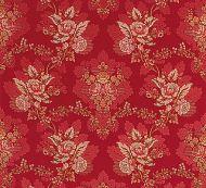 Old World Weavers for Scalamandre: Carlos Lampas ZA 1769 CARL Scarlet