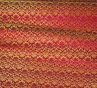 Old World Weavers for Scalamandre: Carlos Small Damask ZA 1782 CALO Oriental Red