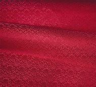 Old World Weavers for Scalamandre: Carlos Small Damask ZA 1783 CALO Scarlet