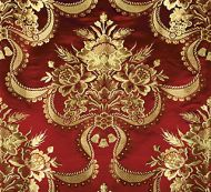 Old World Weavers for Scalamandre: Reale Nastri ZA 2157 RNAS Cherry Gold