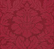 Old World Weavers for Scalamandre: Villa Regina Damask ZA 2166 REGI Scarlet