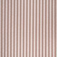 Paolo Moschino for Lee Jofa: Melba Stripe 2020146.1616.0 Brown/Ecru