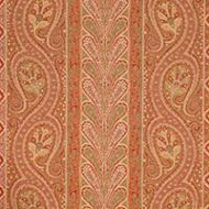 Schumacher: CHATELAINE PAISLEY - Red/Moss