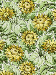 Grey Watkins for Scalamandre: Sunflower Print GW 0001 16631 Harvest